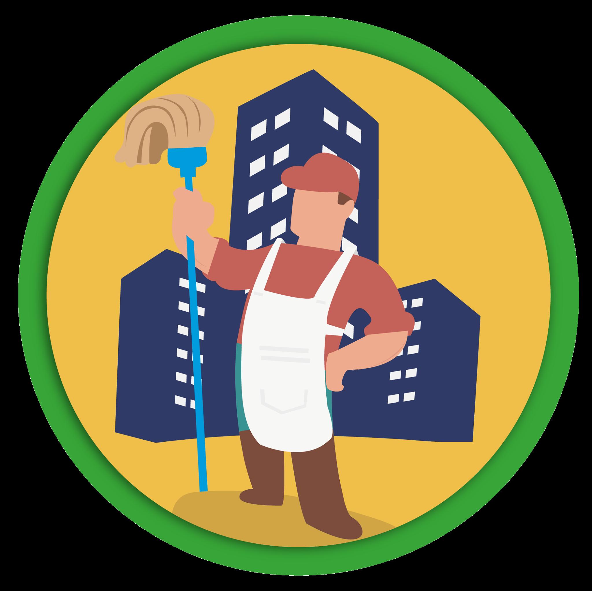 Upratovanie bytových domov